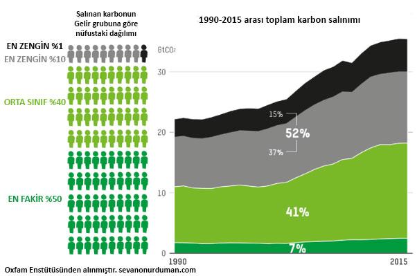 gelir grubuna gore karbon salinimi
