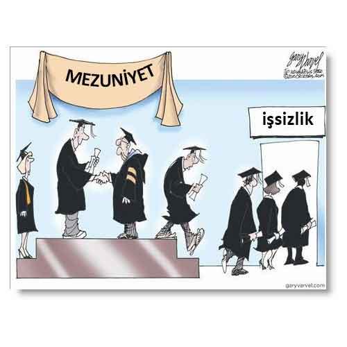 mezun issiz